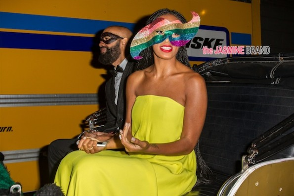 Kris Jenner and Kelly Rowland attend Beyonce's party in New Orleans