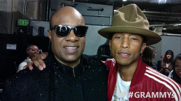 stevie wonder-pharrell-grammy awards 2014-the jasmine brand