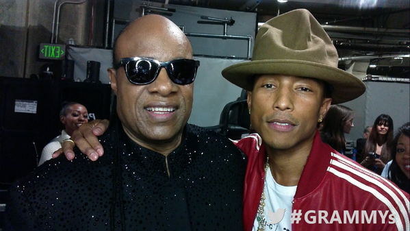 Stevie Wonder, Pharrell Williams