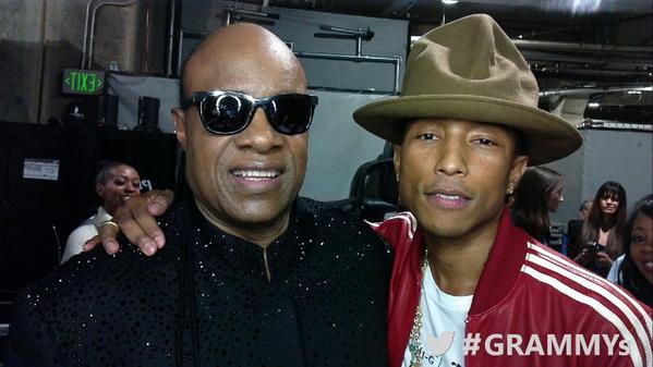 Stevie Wonder, Pharrell Williams