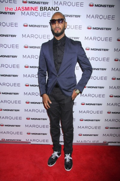 Monster Headphones Takeover with Special Guest DJ Swizz Beatz at Marquee Nightclub in Las Vegas on January 6, 2013