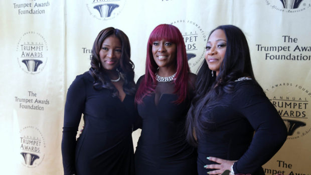 [Photos] Meagan Good, DeVon Franklin & SWV Attend Trumpet Awards