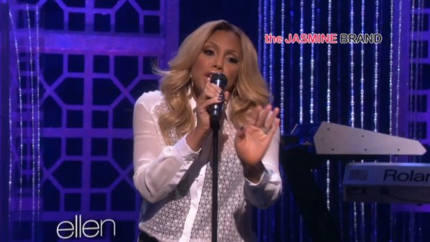 [WATCH] Tamar Braxton Performs 'All the Way Home' On The Ellen Degeneres Show