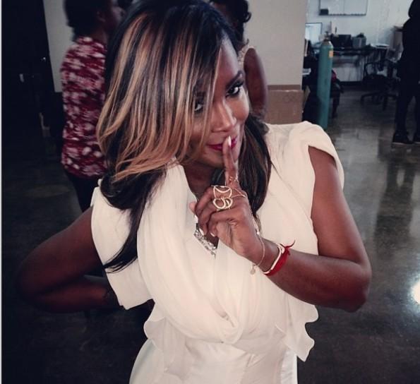 tameka raymond-filming atlanta exes-the jasmine brand