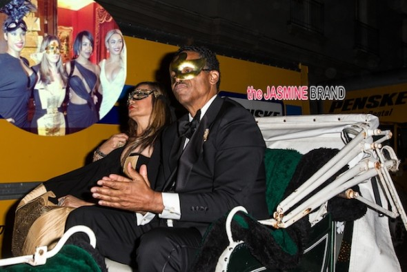 [Photos]: Beyonce Throws Mama Tina Knowles A Masquerade Birthday Ball: Kelly Rowland, Kris Jenner & More Famous Folk Attend