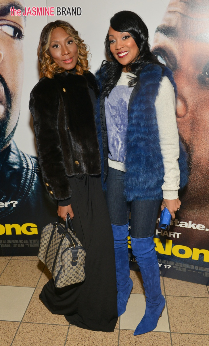 Towanda Braxton and Monica