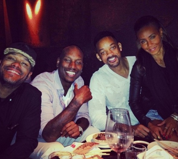 Jada & Will Smith Celebrate Tyrese's Birthday in Dubai + Actor Orders Yachts, Helicopters & Personal Jets