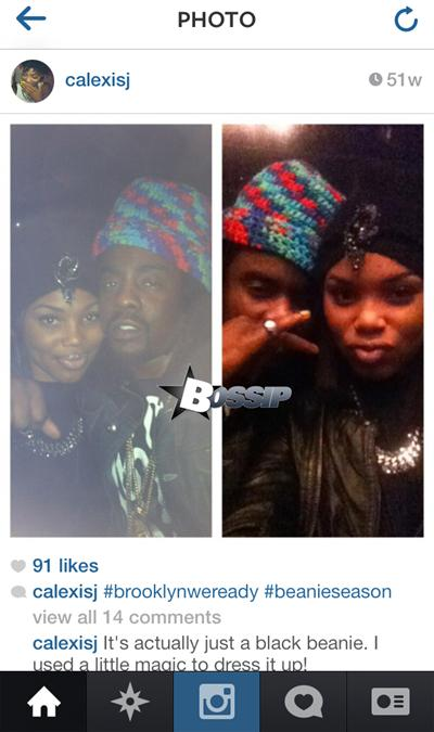 wale-rumored girlfriend chloe alexis instagram-the jasmine brand