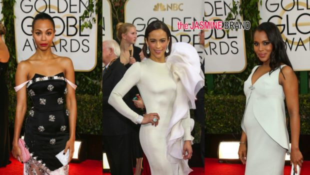 [Photos] Golden Globes Red Carpet Round-Up Feat: Idris Elba, Usher, Paula Patton, Diddy & More