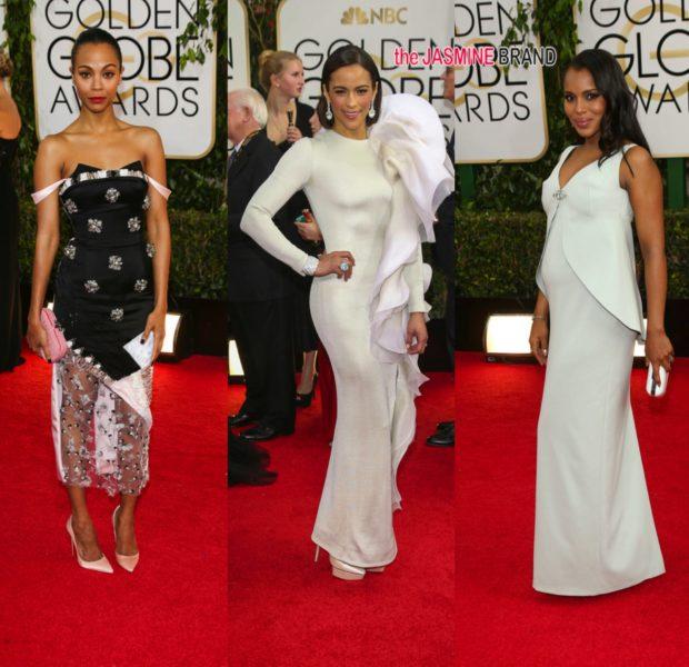 [Photos] Golden Globes Red Carpet Round-Up Feat: Idris Elba, Usher, Paula Patton, Diddy & More