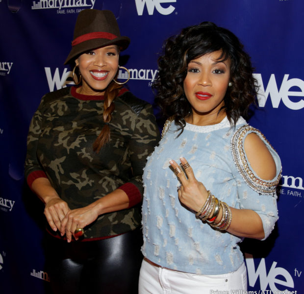 [Photos] Tina & Erica Campbell Host 'Mary Mary' ATL Screening Event