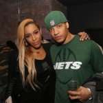 Amina Buddafly, Peter Gunz - Myx Super Bowl at Stage 48 NYC 2.2.14