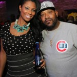 Jennifer Williams, Bun B - Myx Super Bowl at Stage 48 NYC 2.2.14