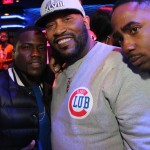 Kevin Hart, Bun B, guest - Myx Super Bowl at Stage 48 NYC 2.2.14