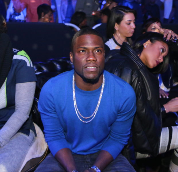 Kevin Hart Hosts Super Bowl Party With Adrienne Bailon, Jennifer Williams & Peter Gunz