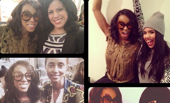 [Photos] June Ambrose Celebrates Eyewear Collection At New York Fashion Week