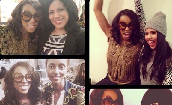 [Photos] June Ambrose Celebrates Eyewear Collection At New York Fashion Week