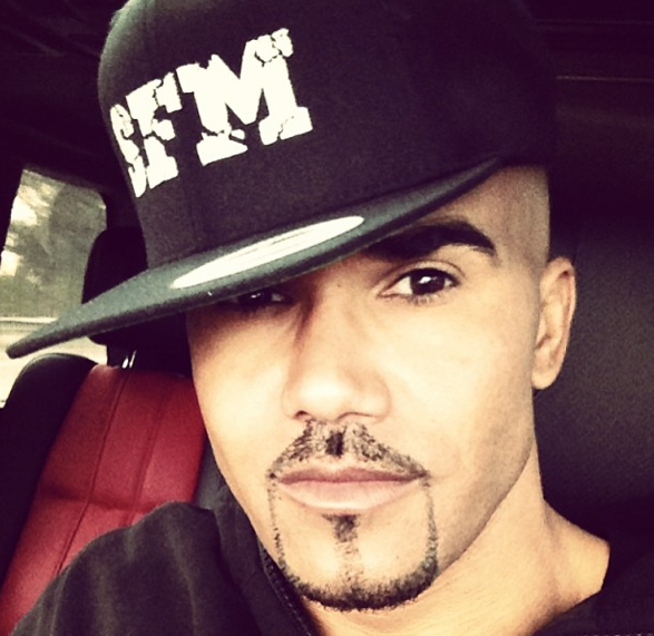 Shemar Moore: If you think I'm gay, send your girlfriend over to my house.