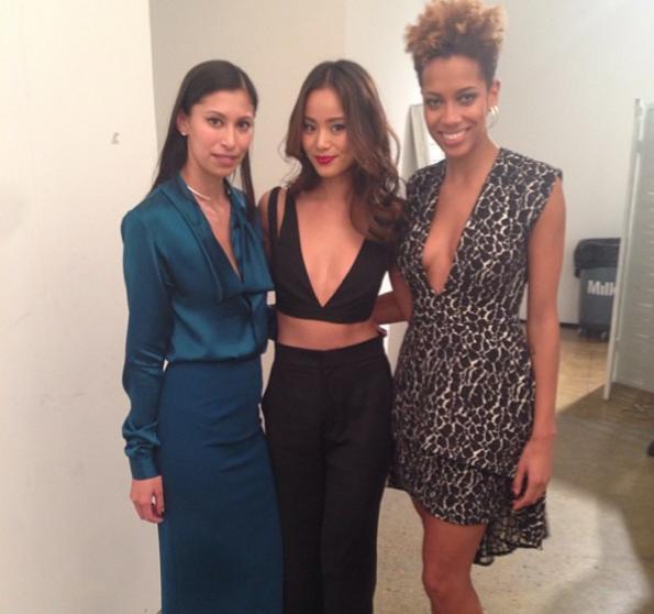 Jamie-Chung-NYFW-2014-The Jasmine Brand