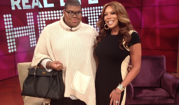 [VIDEO] 'How YOU Doin?' Magic Johnson's Son, EJ, Visits Wendy Williams