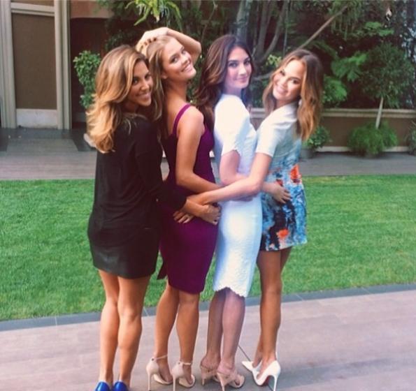 Chrissy-Teigen-Friends-2014-The Jasmine Brand