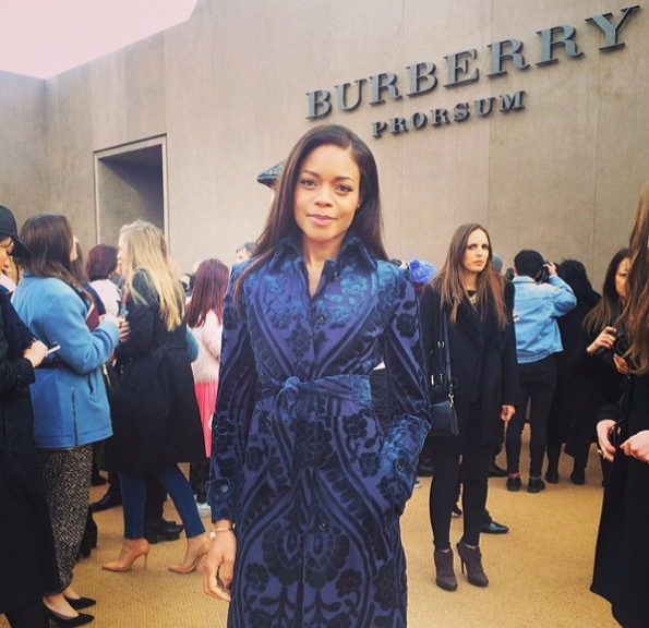 Naomie-Harris-London-Fashion-Week-2014-The Jasmine Brand