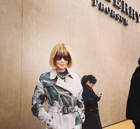 Anna-Wintour-London-Fashion-Week-2014-The Jasmine Brand