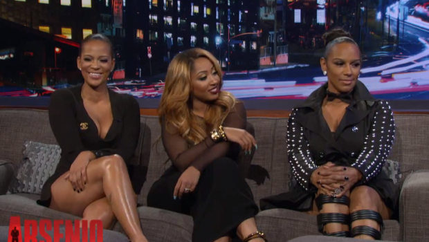 [VIDEO] Basketball Wives LA Cast Blasts Draya On Arsenio Hall + Jackie Christie On Porn & Cheating Men