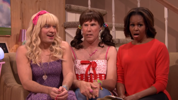 [WATCH] FLOTUS Ups Her Comedy Game, Shines On The Tonight Show With Jimmy Fallon