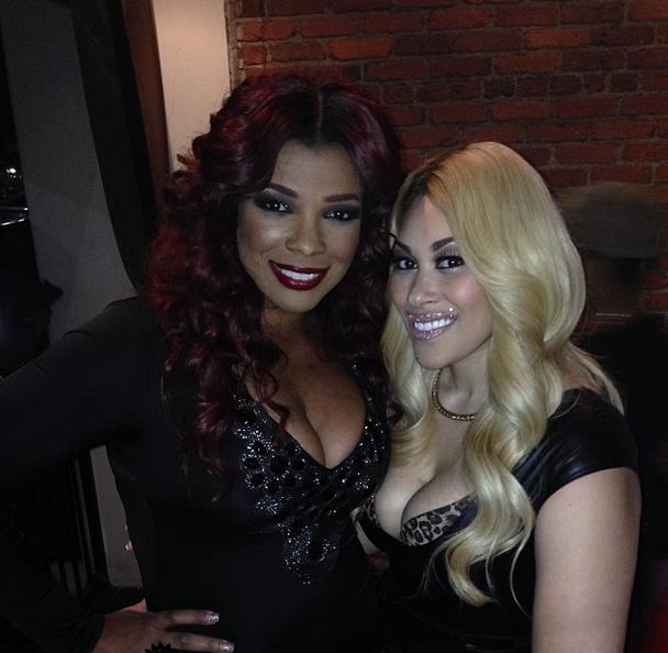 [Photos] R&B Divas Atlanta Spotted Filming in Hollywood