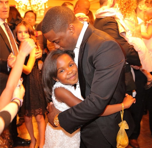 [Photos] Kevin Hart Escorts Daughter To 'Father Daughter' Dance