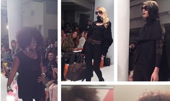 [Photos] Project Runway's Korto Momolu Presents at New York Fashion Week