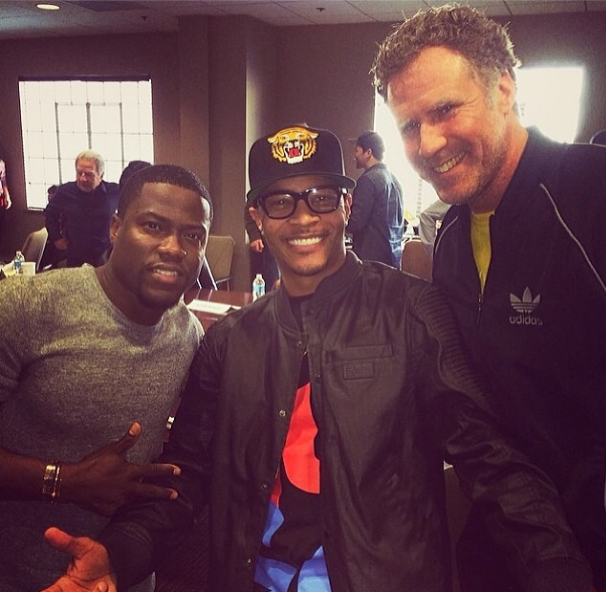 Kevin Hart Announces New Film With Will Ferrell & T.I.