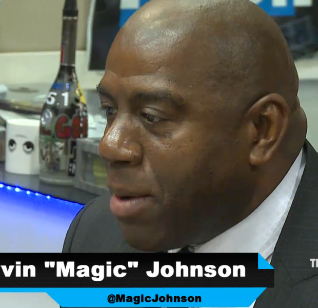 [WATCH] Magic Johnson Says He Still Has HIV, Denies Being Magically Cured by Doctor
