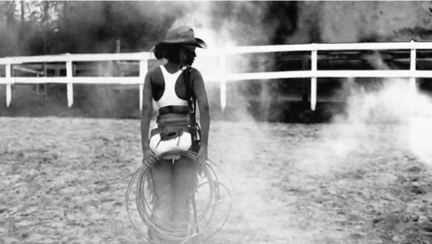 Cowgirl Frenzy! Beyoncé Releases Video For Kanye West's 'Drunk In Love'
