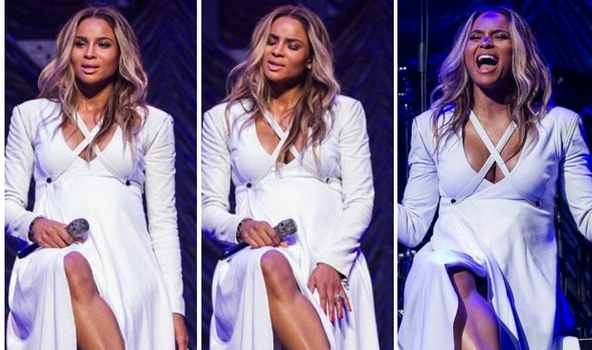 [VIDEO] One Baby Bump Don't Stop No Show, Ciara Performs At 'Valentine's Crush'
