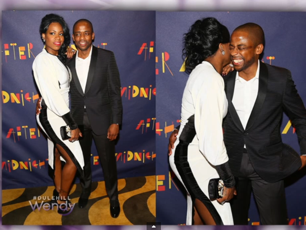 [VIDEO] Dule Hill Denies Romance With Fantasia: Just Because I Had My Hand On Her Booty Doesn't Mean We Are Dating