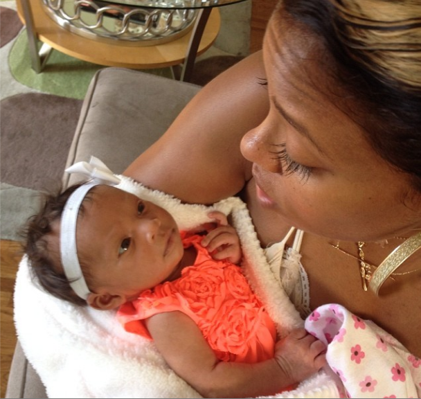 Look! Eva Marcille & Kevin McCall Unveils New Daughter, Marley Rae
