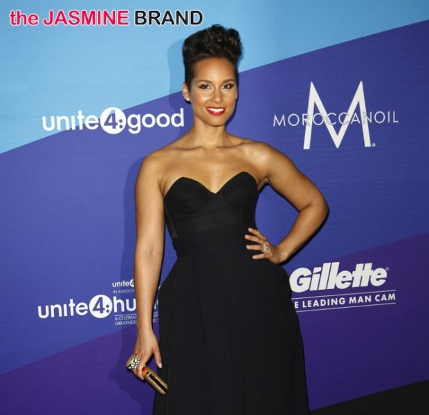 Red Carpet Stalking: Alicia Keys, Eva Longoria Attend 1st Annual unite4:humanity
