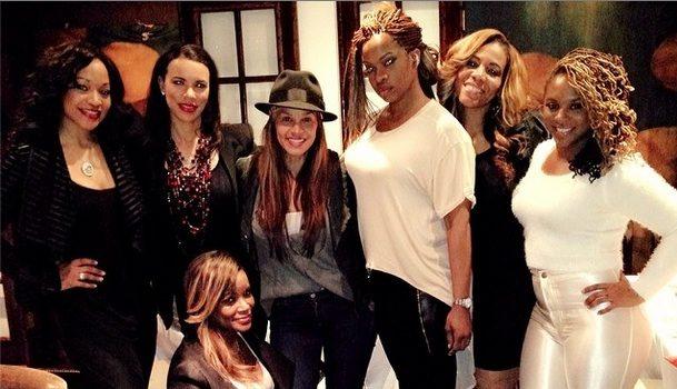 [Photos] Tameka Raymond, Torrei Hart & 'Atlanta Exes' Cast Ventures to Hollywood
