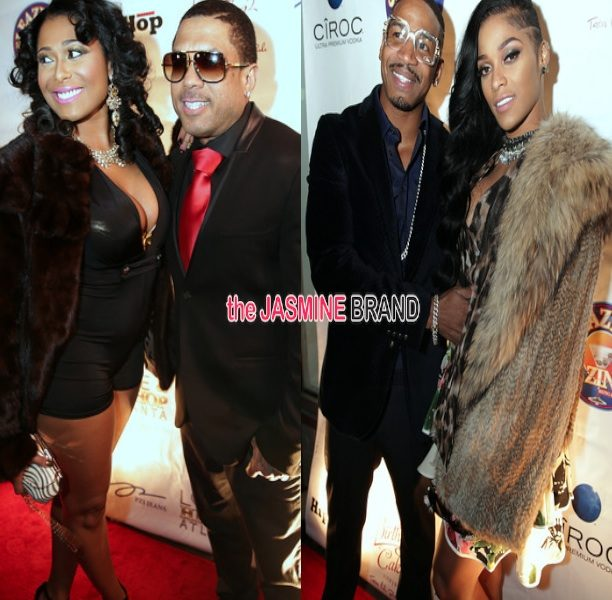 Stevie J & Benzino Open New ATL Restaurant: Kandi Burruss, Towanda Braxton & Erica Dixon More Celebs Spotted