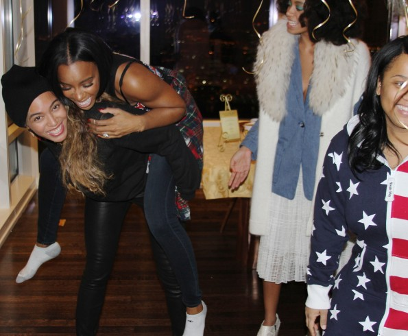 beyonce-throws kelly rowland-house party 33rd birthday 2014-the jasmine brand