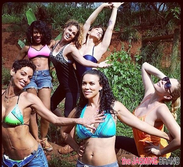 'Hollywood Exes' Bikini Bodies In Tip-Top Shape