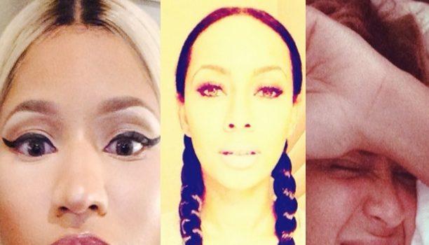 Best Celebrity Selfies of the Week: Kim Kardashian, Beyonce, Nicki Minaj & More