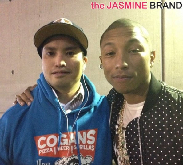 chad hugo-pharrell-celebs all star weekend 2014-the jasmine brand