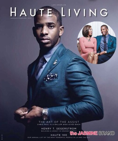 Chris Paul Covers HAUTE LIVING: Talks Fashion, Fatherhood & Wife Jada