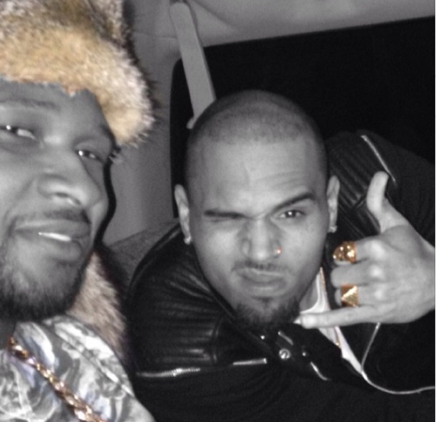 Free At Last! Chris Brown Successfully Finishes Rehab, Spends Quality Time With Pet Tiger and Usher