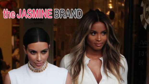 Ciara Caught Filming 'Keeping Up With the Kardashians' With Kim Kardashian
