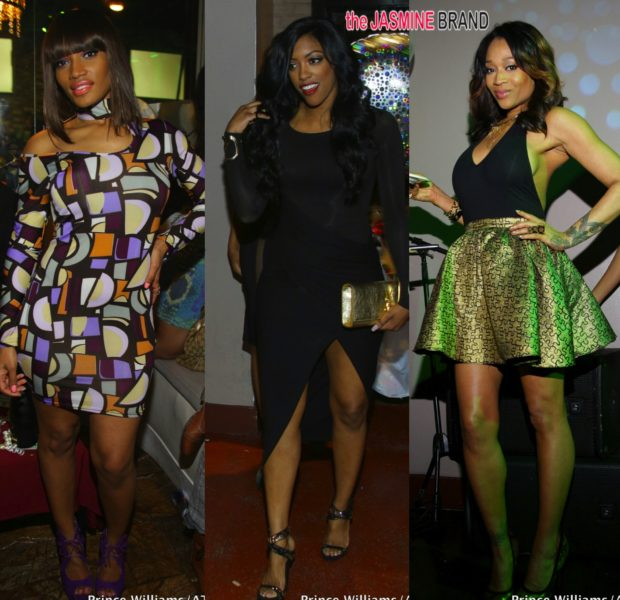 Spotted. Stalked. Scene. Porsha Stewart, Mimi Faust & Erica Dixon Party In the A
