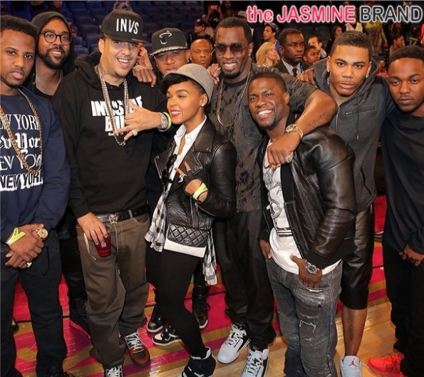 fabolous-french montana-kendrick lamar-kevin hart-nelly-diddy-celebs all star weekend 2014-the jasmine brand